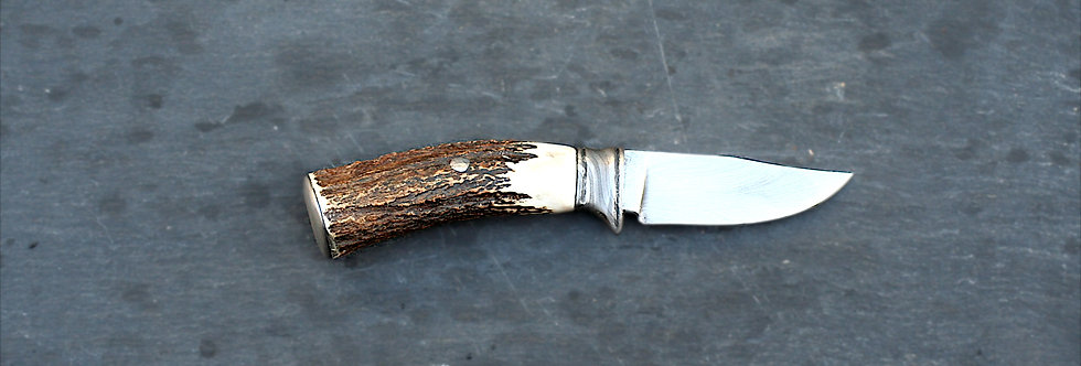 75mm Damascus Hunting Knife