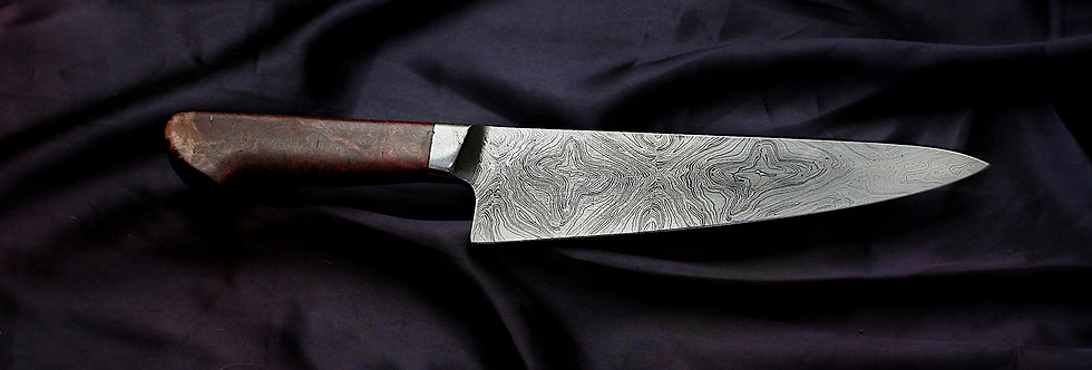 220mm Integral Damascus Chefs Knife