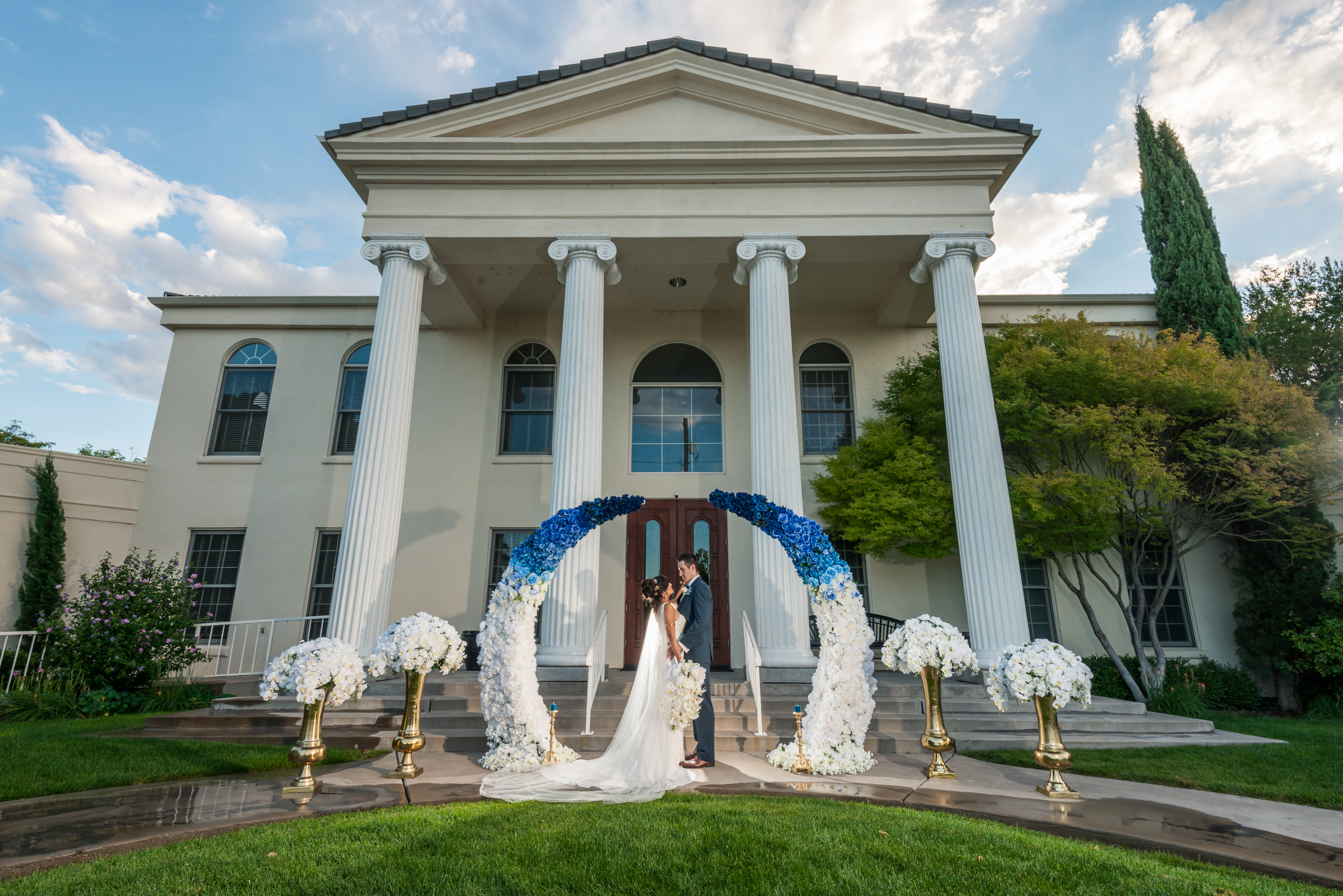 Tiffany Burke Events Greecian Wedding St