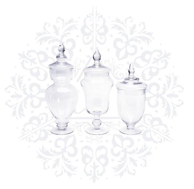Complete Glass Jar Sets