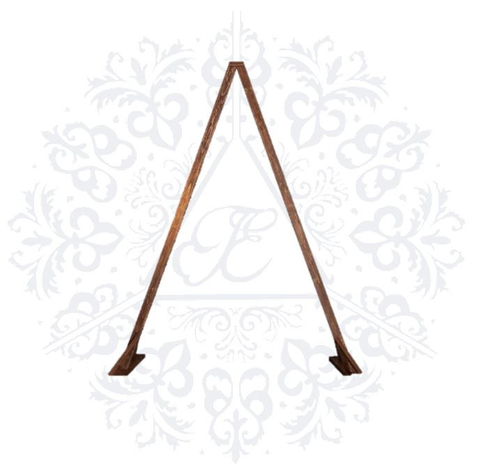 Triangle Wooden Arch