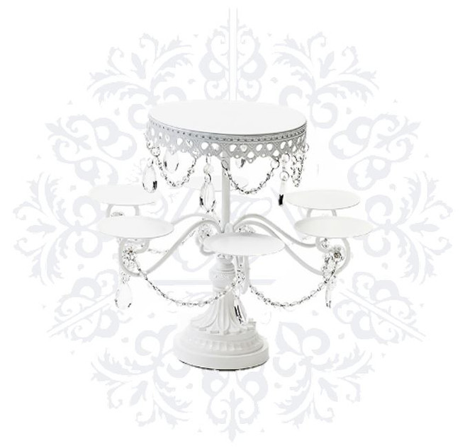 Complete White Crystal Set