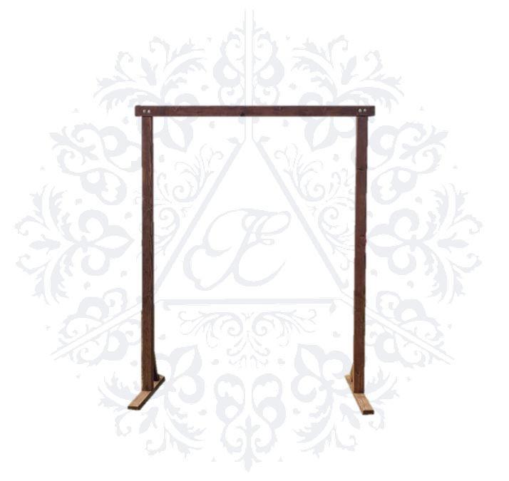 Wooden Retangular Arch