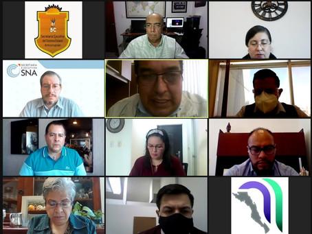 Reunión con el Grupo de Trabajo Jurídico de la SNA y SESEAS Locales