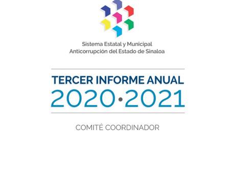 Tercer Informe Anual 2020-2021 del Comité Coordinador