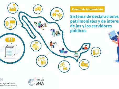 Lanzamiento del Sistema de Declaraciones Patrimoniales y de Intereses del SNA