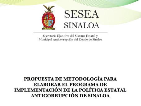 Metodología para Elaborar el Programa de Implementación de la PEA