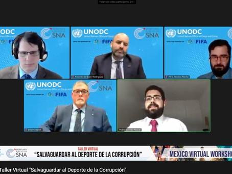 """Taller virtual """"Salvaguardar al deporte de la corrupción"""""""
