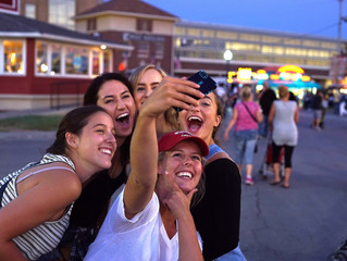 The Capturing Of The Selfie