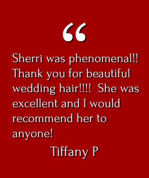 Tiffany P Testimonial
