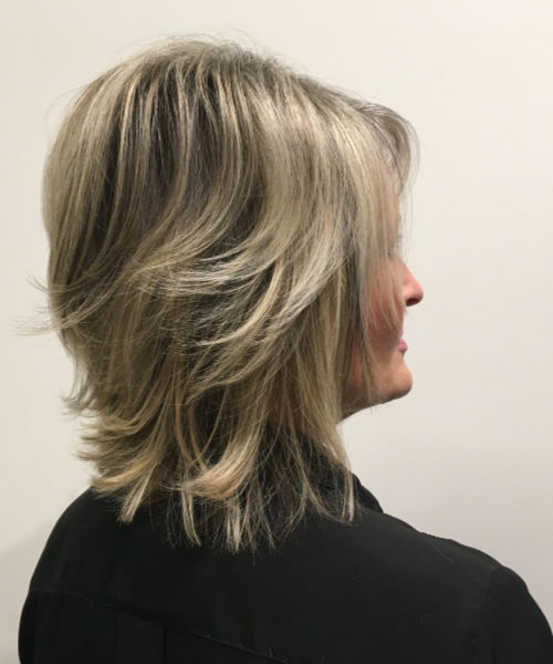 Shag with Highlights