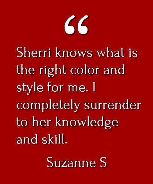 Suzanne S Testimonial
