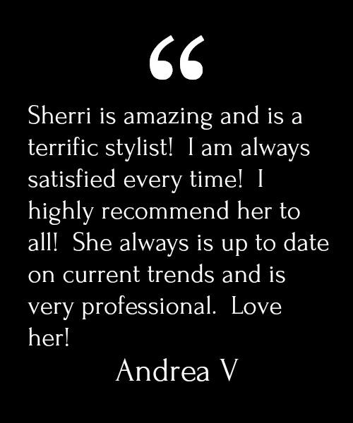 Andrea V Testimonial
