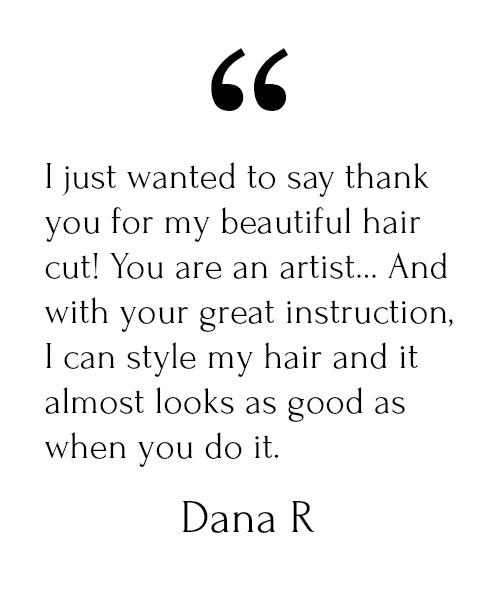Dana R Testimonial