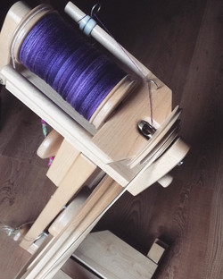 Lace spinning