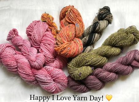 My Yarn from Spinzilla 2017!