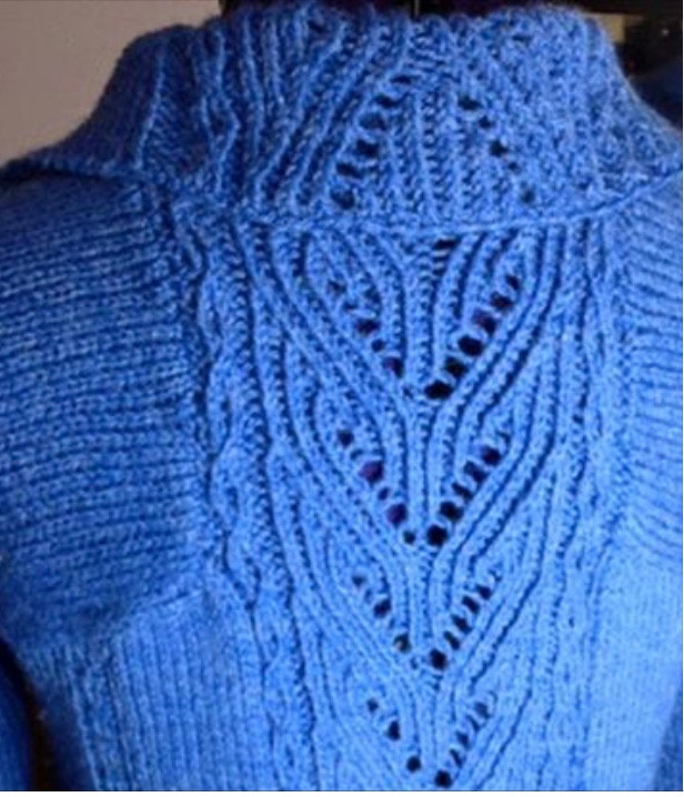 The first cardigan I have ever made... back in November 2012!