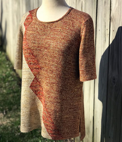 A handknit finish for the season!