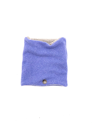 Light Blue Cashmere Neck Warmer