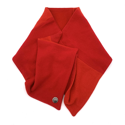 Bright Red Cashmere Neck Wrap