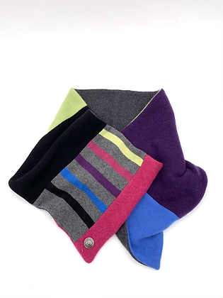 Rainbow Cashmere Neck Wrap