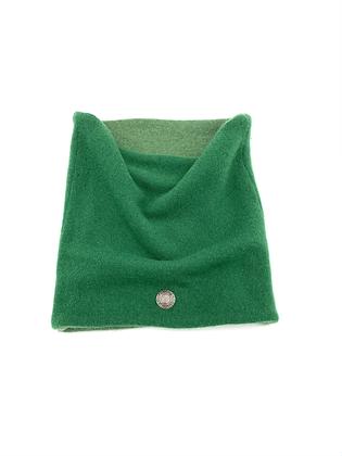 Green Cashmere Neck Warmer