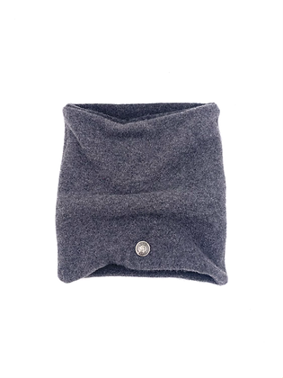 Charcoal Grey Cashmere Neck Warmer