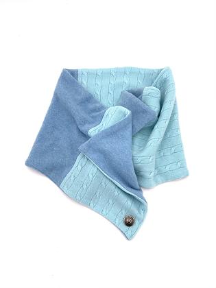 Mint Blue Cashmere Neck Wrap