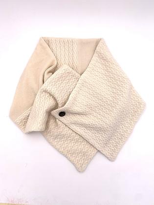 Cream Cashmere Neck Wrap