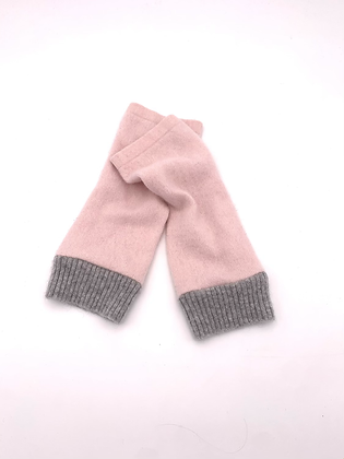 Pink with Grey