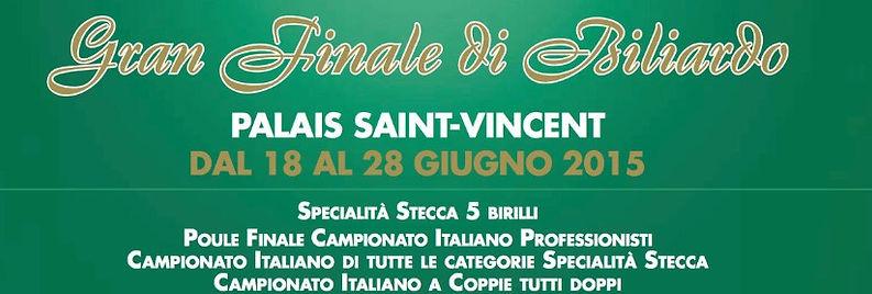 Michelangelo Aniello, Campione Europeo di Biliardo 2015 specialità 5 birilli