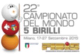 Logo del Campionato del Mondo di Biliardo 2015