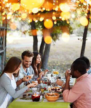 Outside Dinner