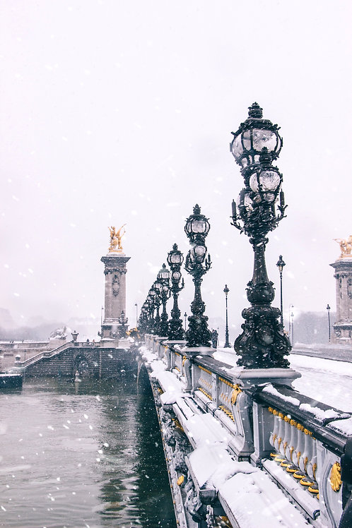 Snow in Paris #1