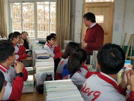 Педагоги МГУ провели занятия по русскому языку в лингвокультурном лагере в Китае