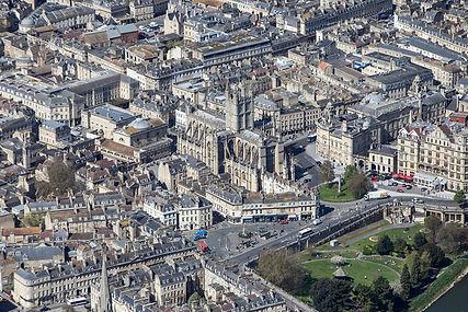 Bath aerial photo