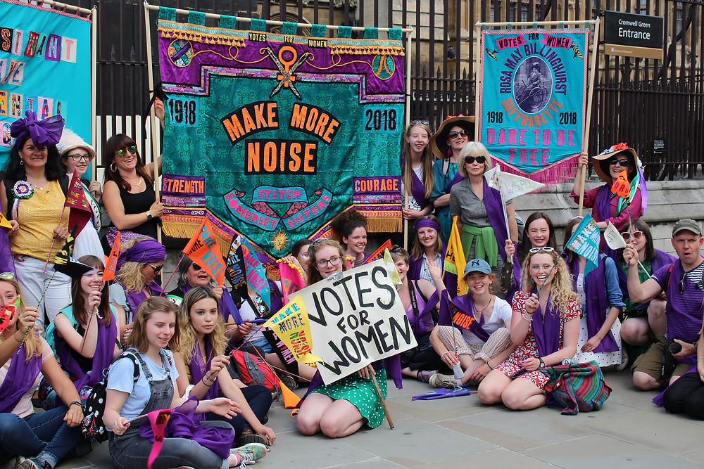 Votes for Women: Processions 2018