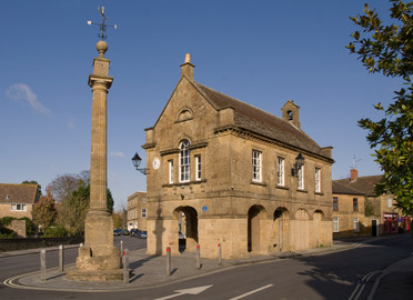Martock Market House - following refurbishment