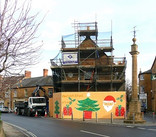 Martock Market House - under construction