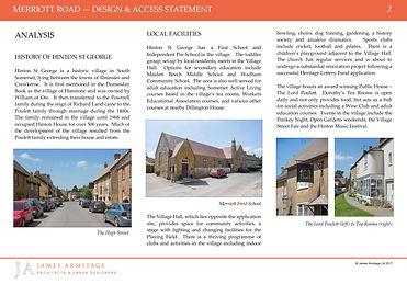 Hinton St George - Design & Access Statement