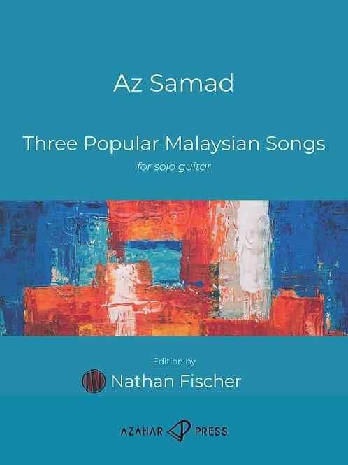 Three Popular Malaysian Songs by Az Samad
