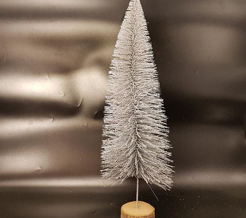 Sapin de Noel  de Table Argenté