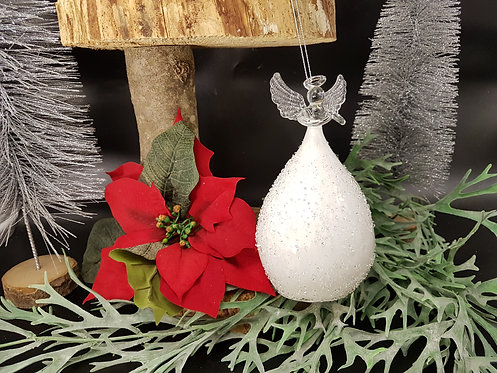 Ange Boule Blanc
