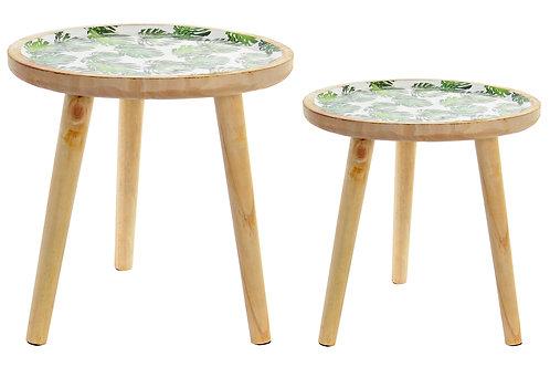 Table Auxiliaire Bois Tropical