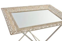 table auxiliaire métal 62x44x60 fleu