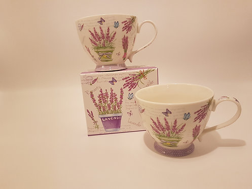 Tasse à thé Lavande