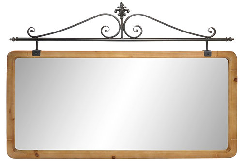 Miroir sapin /Métal
