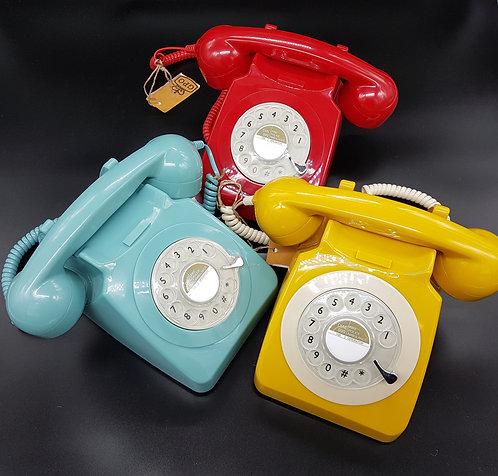 Téléphone beige