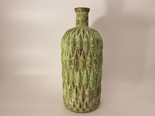 Vase  losange vert