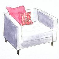 Armchair - Watercolor